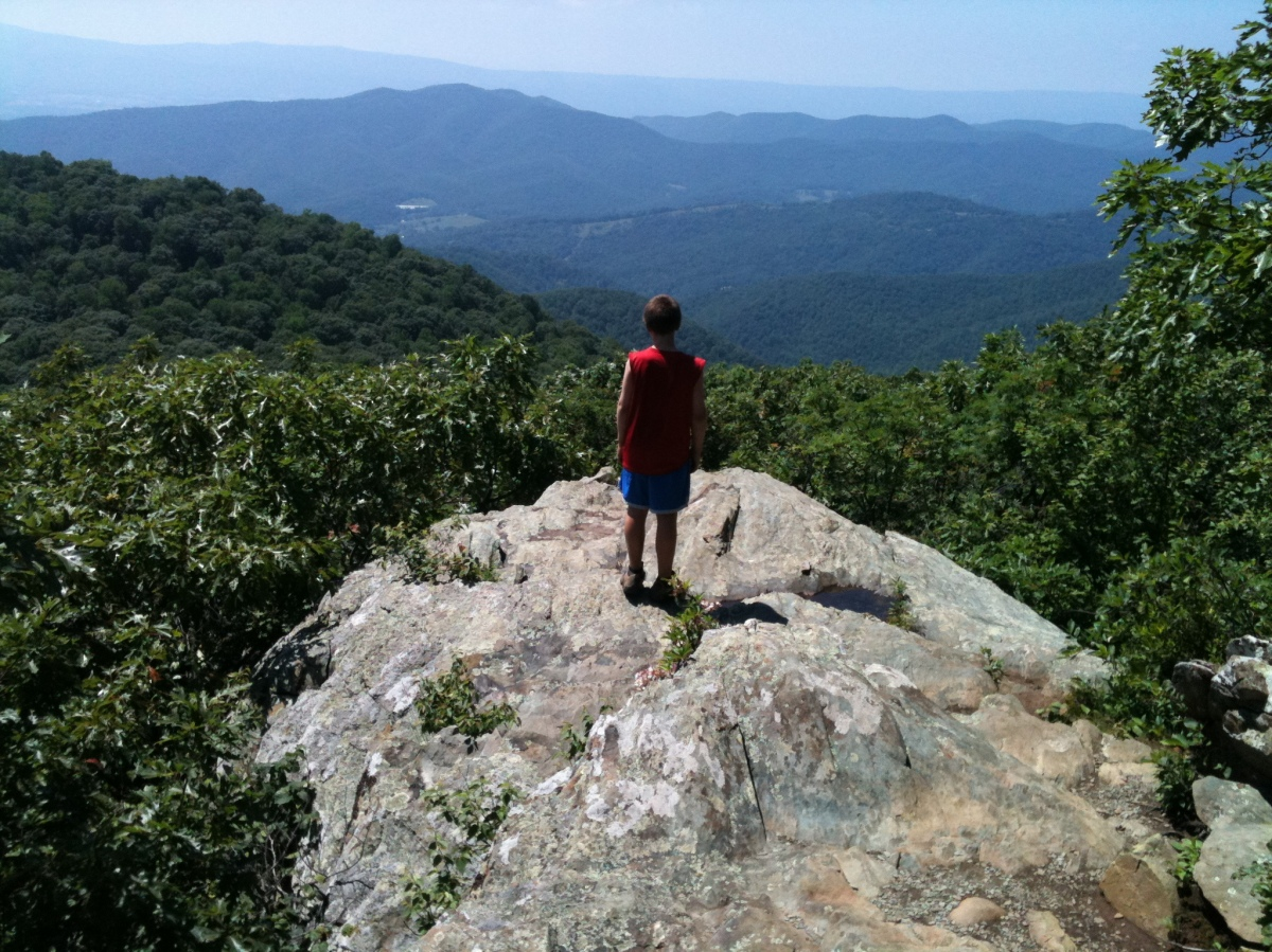 On Walking 2,000 Miles with a 10-Year-Old: Part Three -Two Nights in Shenandoah