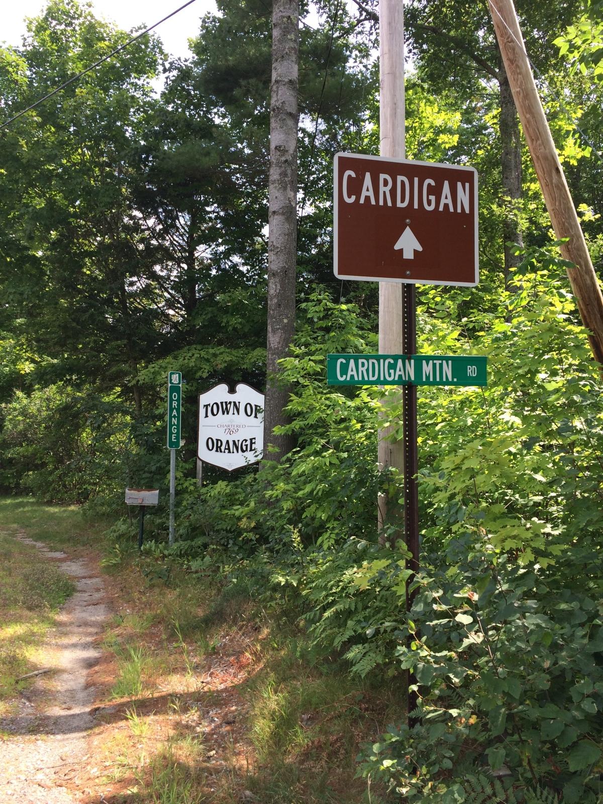 On Climbing Cardigan:August