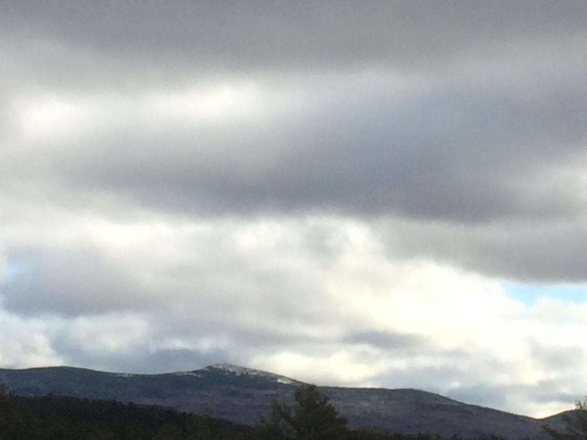 On Climbing Cardigan:November